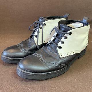 TSUMORI CHISATO ツモリチサト レザー ブーツ ブラック