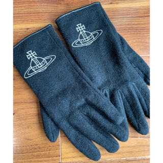 ヴィヴィアンウエストウッド(Vivienne Westwood)のヴィヴィアン 手袋黒 vivienne 専用ページ(手袋)