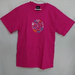 ハフ(HUF)の【M】HUF ハフ/半袖Tシャツ/DOWNWARD SPIRAL/CORAL(Tシャツ/カットソー(半袖/袖なし))