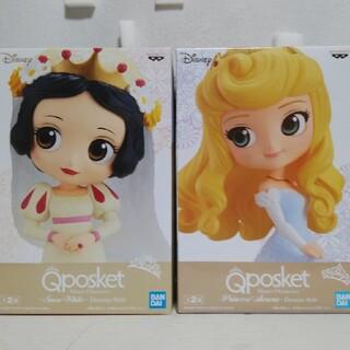 Disney - Qposketドリスタ 白雪姫&オーロラ姫Bカラーverフィギュア