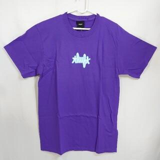 ハフ(HUF)の【M】HUF ハフ/半袖Tシャツ/LANDMARK LOGO/パープル(Tシャツ/カットソー(半袖/袖なし))