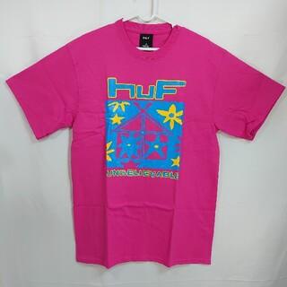 ハフ(HUF)の【M】HUF ハフ/半袖Tシャツ/DEEP HOUSE/CORAL(Tシャツ/カットソー(半袖/袖なし))