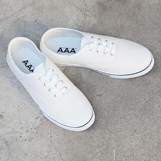 トリプルエー(AAA)のオーセンティック 定番 ローテクスニーカー ホワイト 20 21 aaa+(スニーカー)