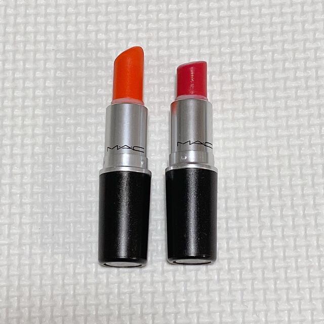 AVON(エイボン)のMAC リップスティック 2本セット コスメ/美容のベースメイク/化粧品(口紅)の商品写真