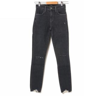 ローズバッド(ROSE BUD)の通常28,600円【新品】ROSE BUD ブラック スキニーデニムパンツ(デニム/ジーンズ)