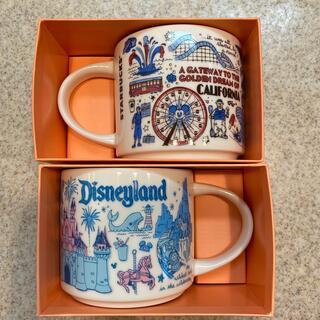 Disney - スターバックス マグカップ カルフォルニアディズニー ペア