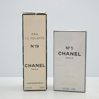 シャネル(CHANEL)の【大人気】CHANEL シャネル N°19 N°5 香水2つセット(香水(女性用))