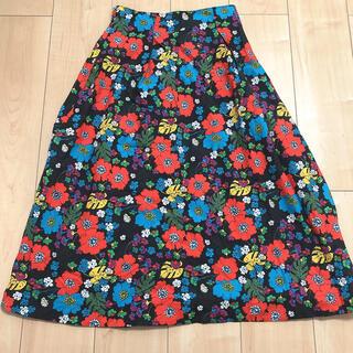 バナーバレット(Banner Barrett)のBanner Barrett レトロプリントスカート(ひざ丈スカート)