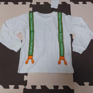 ロデオクラウンズワイドボウル(RODEO CROWNS WIDE BOWL)のサスペンダー風Tシャツ(Tシャツ/カットソー)