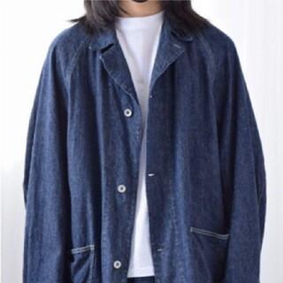 コモリ(COMOLI)のCOMOLI デニムワークジャケット サイズ4(Gジャン/デニムジャケット)