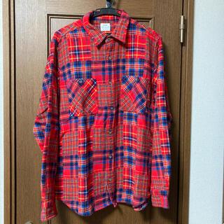 コーエン(coen)のcoen チェックシャツ ネルシャツ(シャツ)