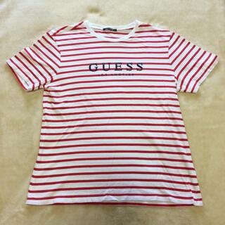 ゲス(GUESS)のGUESS Tシャツ ボーダー(Tシャツ/カットソー(半袖/袖なし))