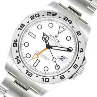 ロレックス(ROLEX)のロレックス ROLEX エクスプローラー2 腕時計 メンズ【中古】(腕時計(アナログ))