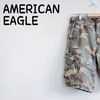 アメリカンイーグル(American Eagle)の【送料無料❗️】アメリカンイーグル カーゴパンツ メンズ レディース 2(ショートパンツ)