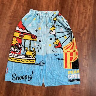 スヌーピー(SNOOPY)のSNOOPY 巻きタオル(タオル/バス用品)