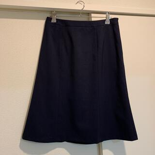 アオキ(AOKI)のスーツ スカート ネイビー(スーツ)