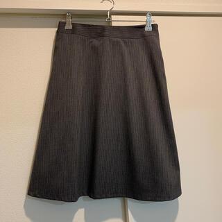 アオキ(AOKI)のスーツ スカート グレー(スーツ)
