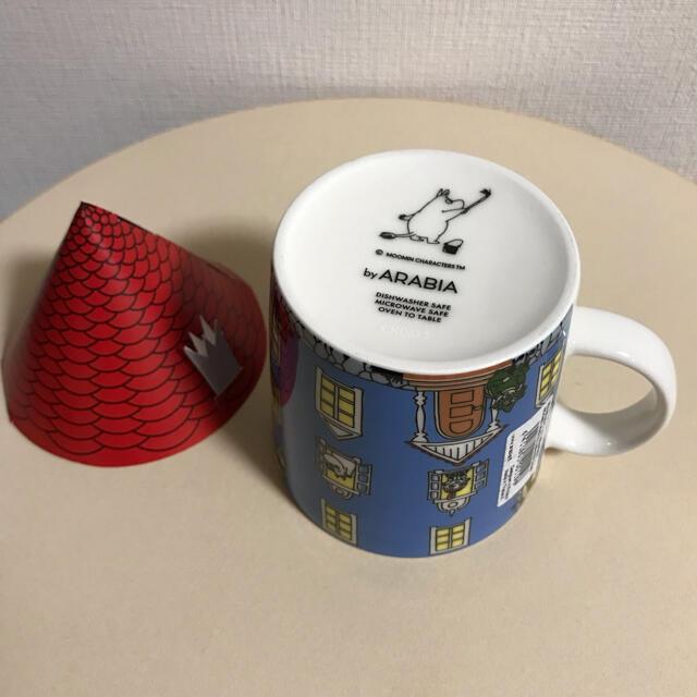 ARABIA(アラビア)の【新品】ARABIA アラビア ムーミン マグカップ ムーミンハウス* インテリア/住まい/日用品のキッチン/食器(グラス/カップ)の商品写真