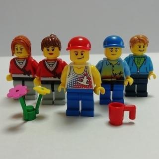 レゴ(Lego)のLEGO中古 フィグ シティー① 5体(その他)
