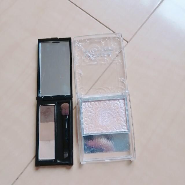KATE(ケイト)のアイブロウとハイライトのセット コスメ/美容のベースメイク/化粧品(パウダーアイブロウ)の商品写真