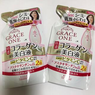 KOSE COSMEPORT - グレイスワン コラーゲン美白液 詰め替え用