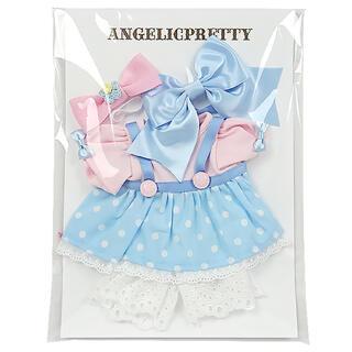 アンジェリックプリティー(Angelic Pretty)の新品 Moco mocoドットウェアSet サックス AngelicPretty(その他)
