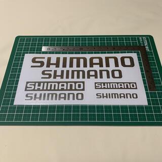 SHIMANO - SHIMANO シマノ ステッカー 銀 ハンドメイド ブラックバス 送料無料