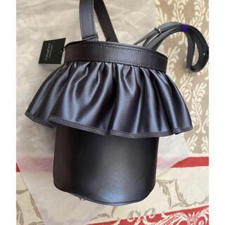 ドゥロワー(Drawer)の名古屋高島屋限定 完売品 セツコサジテール  サテンcity(グレー)(ハンドバッグ)