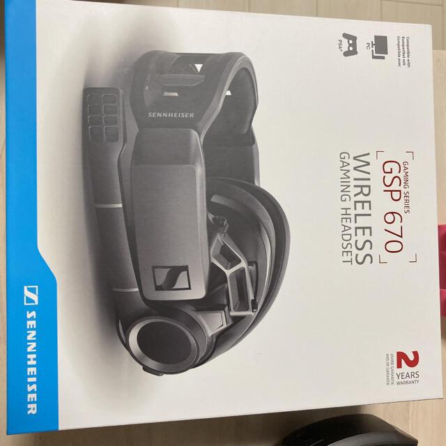 SENNHEISER(ゼンハイザー)のゼンハイザー GSP670 ゲーミングヘッドセット スマホ/家電/カメラのオーディオ機器(ヘッドフォン/イヤフォン)の商品写真