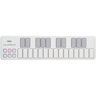 コルグ(KORG)のMIDIキーボード KORG nanoKEY2(MIDIコントローラー)
