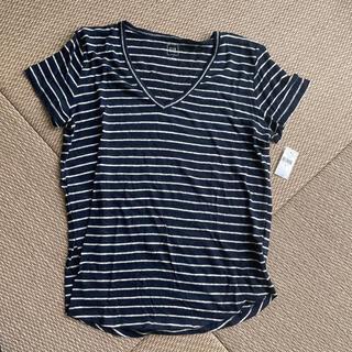 ギャップ(GAP)の【新品】GAP ギャップ ボーダー半袖トップス(Tシャツ(半袖/袖なし))