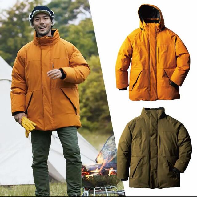 WALKMAN(ウォークマン)のワークマン FLAME TECH洗えるフュージョンダウン モンスターパーカー メンズのジャケット/アウター(ダウンジャケット)の商品写真