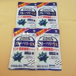 コバヤシセイヤク(小林製薬)の小林製薬 ブルーベリーEX 30日分×4袋(その他)