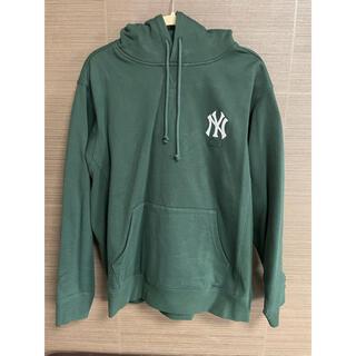 キース(KEITH)のKITH NY Yankees Williams 3 Hoodie グリーンL(パーカー)