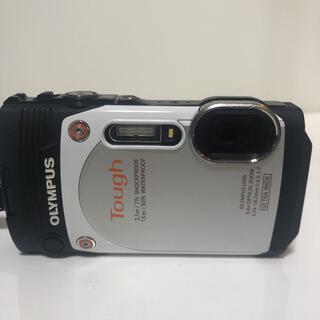 オリンパス(OLYMPUS)のOLYMPUS TG-860 WHITE ジャンク品(コンパクトデジタルカメラ)