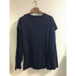 my beautiful landlet layerd L/S T-shirt(Tシャツ/カットソー(七分/長袖))