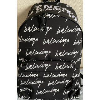 Balenciaga - 【新品 】バレンシアガ BALENCIAGA 総柄リュック バックパック