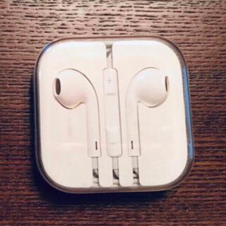 アップル(Apple)の未使用 アップル純正イヤホン iPhone 6 付属品 ジャックタイプ(ヘッドフォン/イヤフォン)