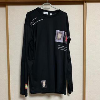 バーバリー(BURBERRY)のBurberry バーバリー cutout cotton  t shirt(Tシャツ/カットソー(七分/長袖))