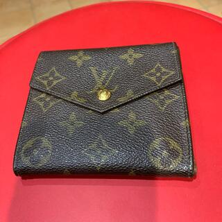 ルイヴィトン(LOUIS VUITTON)のモノグラム 2つ折財布(財布)