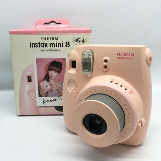富士フイルム - FUJIFILM インスタントカメラ チェキ instax mini 8 ピンク