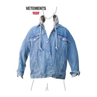 バレンシアガ(Balenciaga)のVETEMENTS x Levi's Oversized デニム ジャケットS(Gジャン/デニムジャケット)