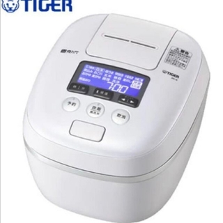 TIGER - タイガー 圧力IH 炊飯器 JPC-G100 5.5合 エアリーホワイト