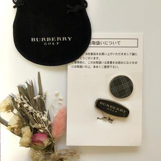 バーバリー(BURBERRY)の【BURBERRY】バーバリーゴルフマーカー ブラック×チェック(その他)