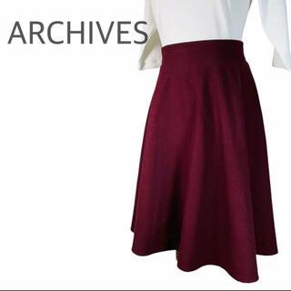 アルシーヴ(archives)のARCHIVES アルシーヴ プリーツスカート 秋冬(ひざ丈スカート)