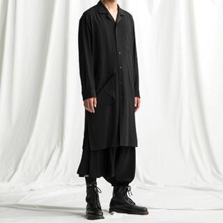 ヨウジヤマモト(Yohji Yamamoto)のGround Y 【20AW】No Fixing Long Shirt(シャツ)