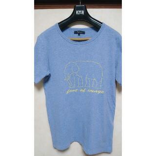 ユナイテッドアローズ(UNITED ARROWS)の美品 UNITED ARROWS(ユナイテッドアローズ) Tシャツ 半袖 L(Tシャツ/カットソー(半袖/袖なし))