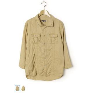 アバハウス(ABAHOUSE)の極美品 ABAHOUSE(アバハウス) ミリタリーシャツ 長袖 Lサイズ(Tシャツ/カットソー(七分/長袖))