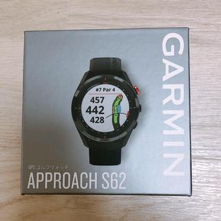ガーミン(GARMIN)の新品未使用 GARMIN ガーミン アプローチ S62 ブラック(その他)