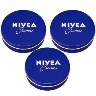 ニベア - NIVEA ニベアクリーム 青缶 クリーム169gx3個